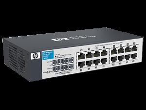 gambar spesifikasi HP 1410-16G Switch(J9560A)