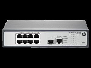 gambar spesifikasi HP 1910-8G Switch(JG348A)