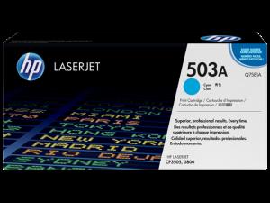 gambar HP 503A Cyan Original LaserJet Toner Cartridge(Q7581A)