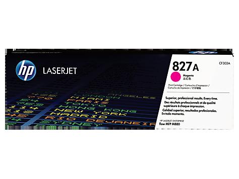 gambar HP 827A Magenta Original LaserJet Toner Cartridge( CF303A)