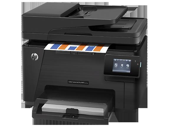 gambar Printer HP Color LaserJet Pro MFP M177fw (CZ165A)