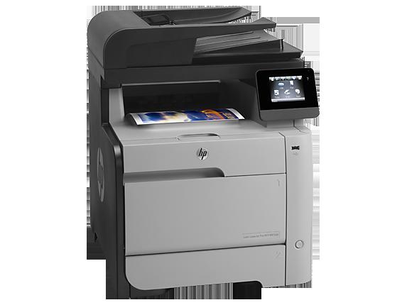 gambar Printer HP Color LaserJet Pro MFP M476dn (CF386A)