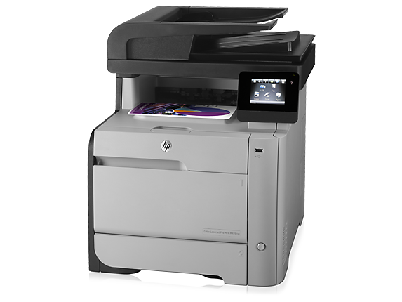 gambar Printer HP Color LaserJet Pro MFP M476nw (CF385A)