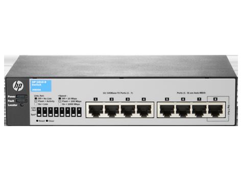 HP Switch Managed 1810-8 v2 [J9800A]