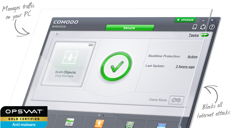 gambar Comodo Firewall