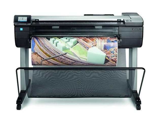 gambar HP DesignJet T830 (F9A30A)