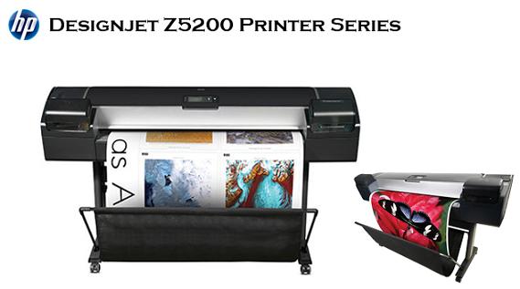 gambar plotter HP Designjet Z5200