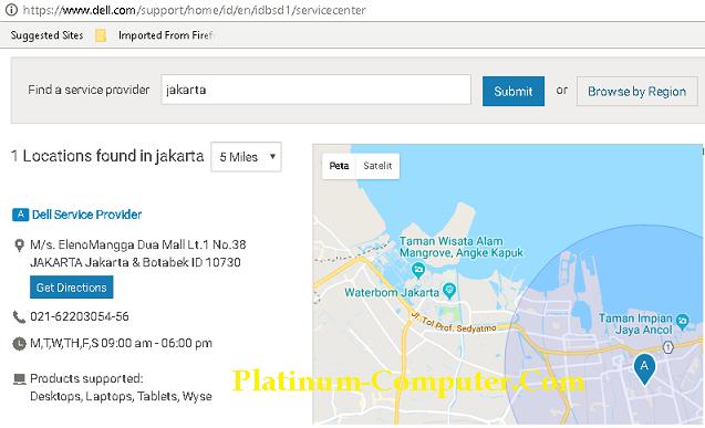 Service Center Dell Jakarta Dell Service Provide