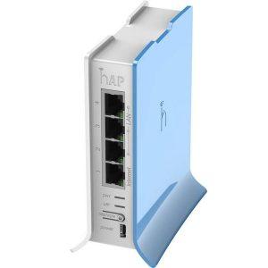 pic Mikrotik Router RB941-2nD-TC HAP Lite - Blue White